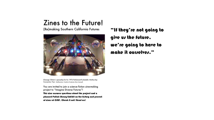 ZInes to the Future! Cover